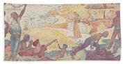 Harmonious Times By Signac Beach Towel