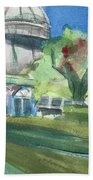 Haupt Conservatory At Nybg Beach Towel