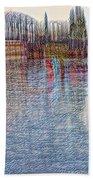 Hawthorn Bridge Beach Towel