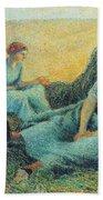 Haymakers Resting, 1891 Beach Towel