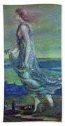 Hesperus The Evening Star 1870 Beach Towel