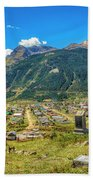 Hillside Cemetery Of Silverton Colorado Beach Towel
