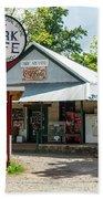Historic Oark General Store Beach Towel