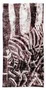 How The Leopard Got His Spots Zebra D16ed3 Beach Towel