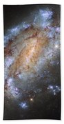 Hubbles Lonely Firework Display Beach Towel