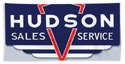 Hudson Motor Co. Beach Towel