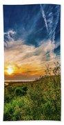 Huron Evening Beach Towel