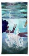 I Aint Drowning Beach Sheet