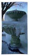 Ice Fountain Beach Towel