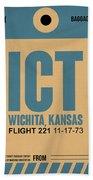 Ict Wichita Luggage Tag I Beach Towel