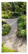 If Gulliver Had A Herb Garden Beach Sheet