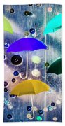 Imagination Raining Wild Beach Towel