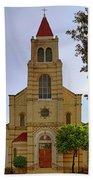 Immaculate Heart Of Mary Church - San Antonio - Texas Beach Towel by Jason Politte