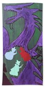 In The Belly Of The Dragon Beach Towel