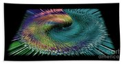 In The Eye Of The Storm II Altered  Beach Towel