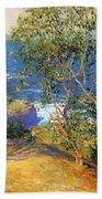Indian Tobacco Trees La Jolla 1916 Beach Towel
