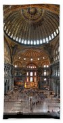 Interior, Hagia Sophia Museum Beach Sheet