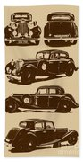 Jaguar Mark Iv Ss 2.5 Saloon Beach Towel