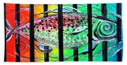 Jail Fish 135826 Beach Towel
