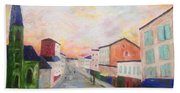 Japanese Colorful And Spiritual Nuance Of Maurice Utrillo Beach Towel