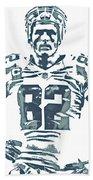 Jason Witten Dallas Cowboys Pixel Art 22 Beach Towel