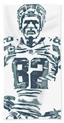 Jason Witten Dallas Cowboys Pixel Art 22 Beach Sheet
