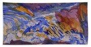 Jay Cooke Favorite Spot In Purple And Tan Beach Sheet