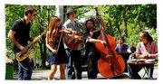 Jazz Musicians Beach Sheet