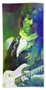 Jeff Beck, Love Is Green Beach Towel