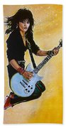 Joan Jett Beach Towel