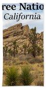 Joshua Tree National Park, California 03 Beach Sheet
