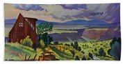 Journey Along The Road To Infinity Beach Towel