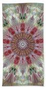 Kaleidoscope Valentine  Beach Towel