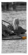 Kayaking Along The Magothy Beach Towel