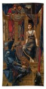 King Cophetua And The Beggar Maid 1884 Beach Towel