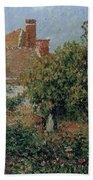 Kitchen Garden In Eragny, Afternoon, 1901 Beach Towel