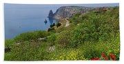 Crimea View, Fiolent Beach Towel
