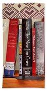 Kuji's Bookshelf Beach Sheet