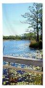 Lake View Beach Towel