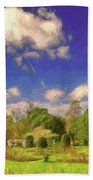 Landscape Gardening Beach Towel