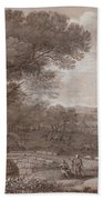Landscape With The Rest On The F  Beach Towel