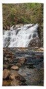 Laurel Falls In Spring I Beach Towel