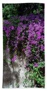 Lavender Pot Beach Towel