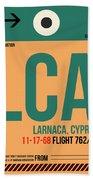 Lca Cyprus Luggage Tag I Beach Towel