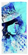 Legendary Aerosmith Watercolor Beach Towel