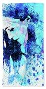 Legendary Alanis Morissette Watercolor Beach Sheet