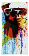Legendary Fear And Loathing Watercolor Beach Towel