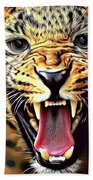 Leopard 2 Beach Towel