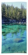 Let's Get Naked  Beach Towel by Sean Sarsfield