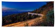 Linn Cove Viaduct - Blue Ridge Parkway Beach Sheet